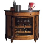 Merlot Valley Wine and Bar Cabinet