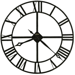 Lacy Oversized Iron Wall Clock
