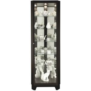 Melissa IV Corner Curio Cabinet