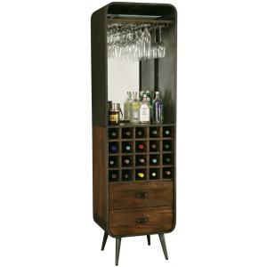 Aged Century Wine & Bar Cabinet