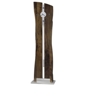 Enzo Live Edge Floor Clock