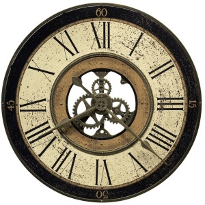 Brass Works Oversized Wall Clock