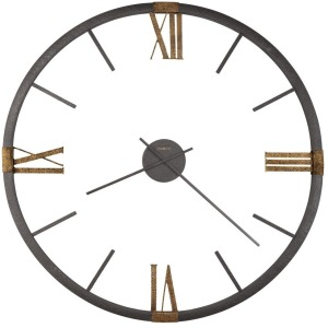 Prospect Park Metal Oversized Wall Clock