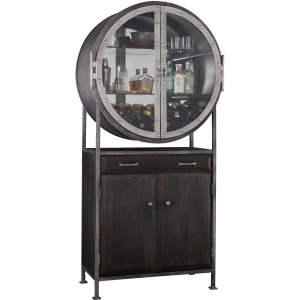 Roy II Wine & Bar Cabinet