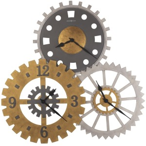 Cogwheel II Oversized Wall Clock
