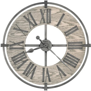 Eli Oversized Iron Wall Clock