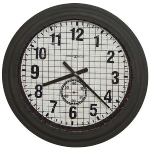 Grid Iron Works Wall Clock