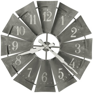Windmill Oversized Wall Clock