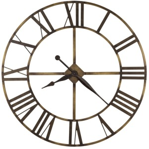Wingate Oversized Iron Wall Clock
