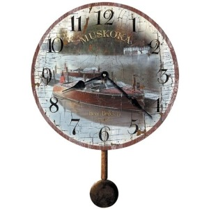 Savannah Botanical VII Wall Clock