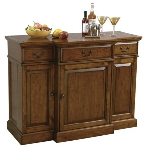 Shiraz Hide-A-Bar Console
