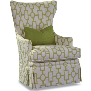 Swivel Shown in Fabric 10298-23