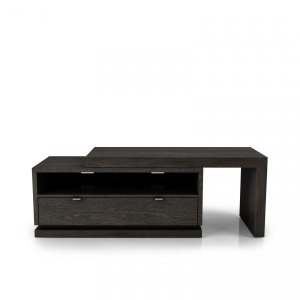 TV Base (with L top) Shown in Charcoal # 11