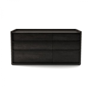 6 drawer dresser Shown in charcoal #11