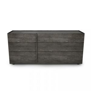 6 drawer dresser Shown in anthracite 21
