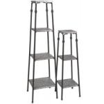 Gilbert Galvanized Shelves - Set of 2