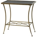 Clayton Marble Top Side Table
