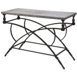 Gilbert Galvanized Console Table