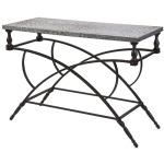 Gilbert Galvanized Console Table