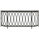 Ariana Metal Console Table