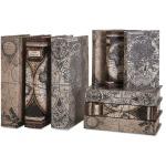 Mason Map Book Boxes - Set of 9