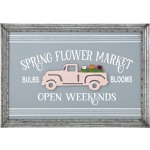 Flower Market Wall Decor