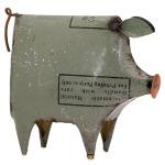 Precious the Pig - Reclaimed Metal