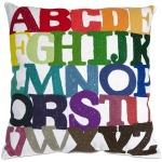 Rainbow ABC Pillow