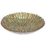 Bali Gold Glass Bowl