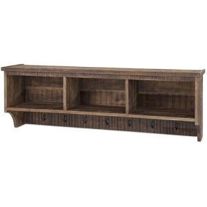 Ebba Cubby Wall Shelf