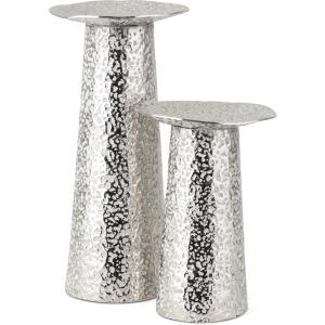 Artus Aluminum Candleholders - Set of 2
