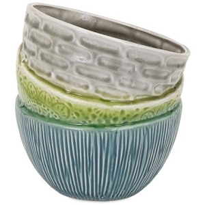 Stacked Bowl Planter