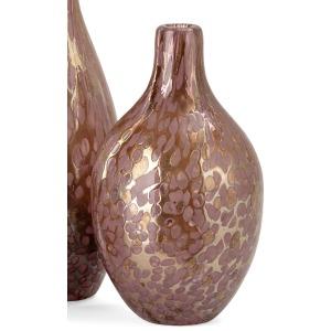SG Glisten Art Glass Decorative Bottle - Medium