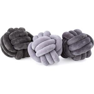 Channing Large Velvet Knots - Ast 3