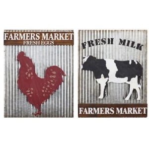Farmhouse Fresh Wall Decor - Set of 2