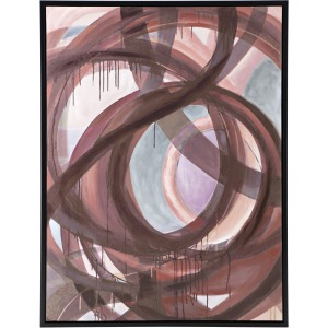 SG Swirls Framed Wall Decor