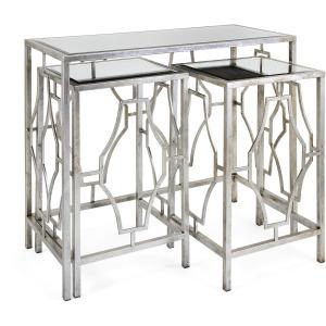Armando Mirror Tables - Set of 3