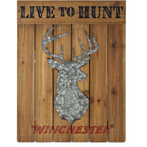 Winchester Live to Hunt Wall Decor
