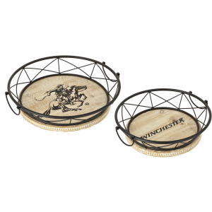Winchester Round Trays - Set of 2