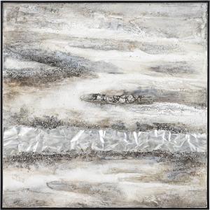 Organic Matter Framed Oil Painting