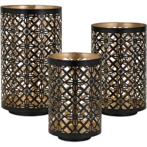 Helena Pierced Lanterns - Set of 3