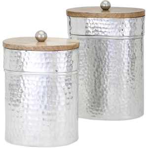 Brant Lidded Decorative Containers - Set of 2