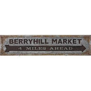 TY Berry Patch Market Sign