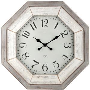 Katarina Grey Wash Wall Clock