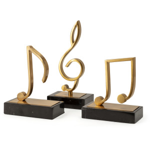 TY Tribute Music Statuary - Set of 3
