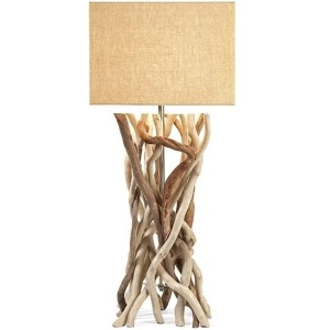 Explorer Drift Wood Table Lamp