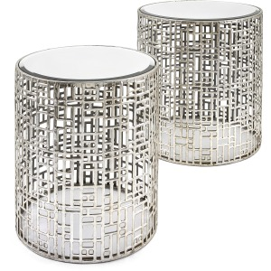 Evans Mirror Tables - Set of 2