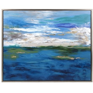 Circadian Framed Oil Painting