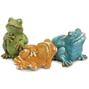Garza Casual Frogs - Set of 3