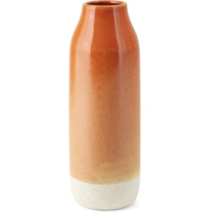 Albany Large Orange Ceramic Vase
